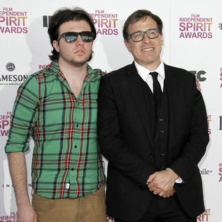 Matthew Russell, David O. Russell in 2013 Film Independent Spirit Awards - Arrivals