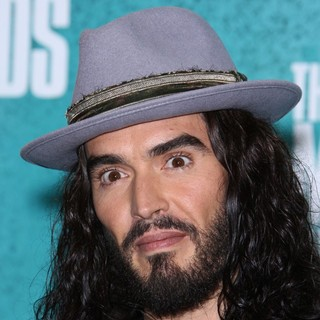Russell Brand in 2012 MTV Movie Awards - Press Room