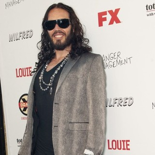 Russell Brand in FX Summer Comedies Party