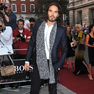 Russell Brand in GQ Men of The Year Awards 2013 - Arrivals