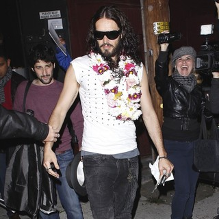 Russell Brand in Russell Brand Leaving Largo
