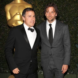 David O. Russell, Bradley Cooper in The Academy of Motion Pictures Arts and Sciences' 4th Annual Governors Awards - Arrivals