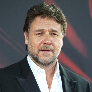Russell Crowe in Madrid Premiere of Man of Steel