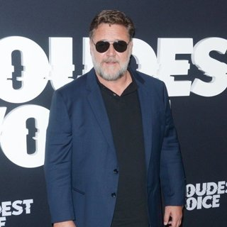 Russell Crowe in The Loudest Voice TV Show Premiere - Red Carpet Arrivals
