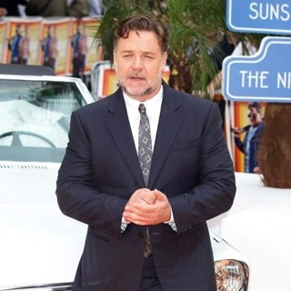 Russell Crowe in The UK Premiere of The Nice Guys - Arrivals