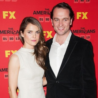 Keri Russell, Matthew Rhys in Premiere Screening of The Americans - Arrivals