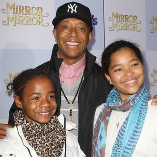 Russell Simmons in Relativity Media Presents The Los Angeles Premiere of Mirror Mirror - Arrivals