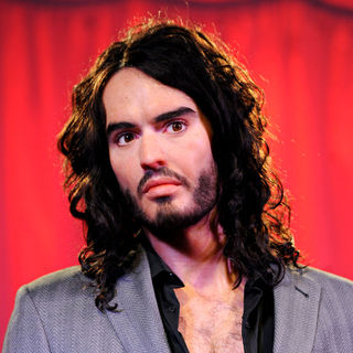 Russell Brand - Russell Brand Wax Figure Unveiling at Madame Tussauds