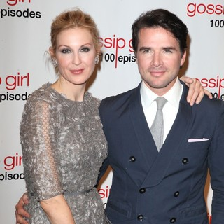 Kelly Rutherford, Matthew Settle in Gossip Girl Celebrates 100 Episodes