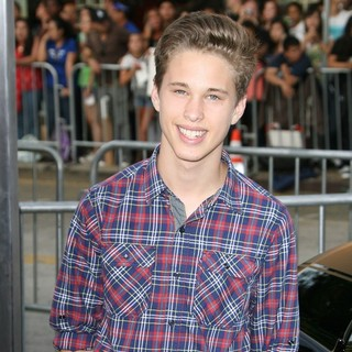 Ryan Beatty in Getaway Los Angeles Premiere