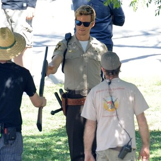 Ryan Kwanten in Actors on The Set of True Blood