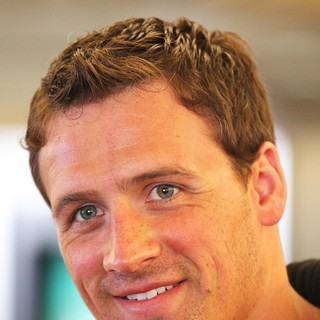 Ryan Lochte Arrives at Los Angeles International Airport