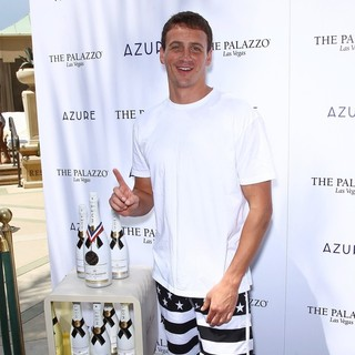 Ryan Lochte in Ryan Lochte Celebrates His Olympic Success by Hosting A Day at Azure Pool
