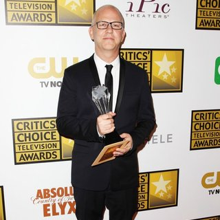 Ryan Murphy in 4th Annual Critics' Choice Television Awards - Press Room
