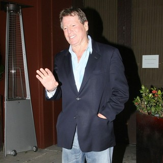 Ryan O'Neal in Ryan O'Neal Leaving An Event
