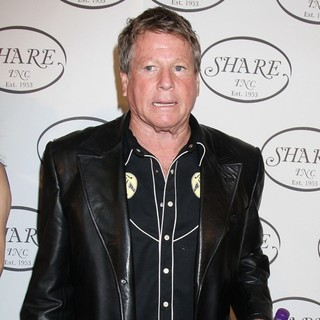 Ryan O'Neal in The Share Boomtown Gala 2010