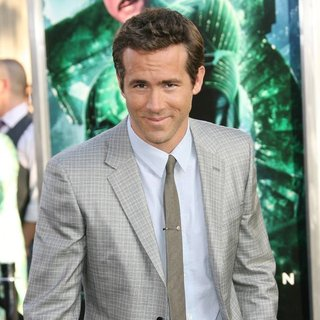 Ryan Reynolds in Los Angeles Premiere of Warner Bros. Pictures Green Lantern