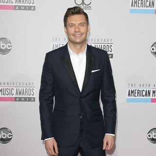 Ryan Seacrest in The 40th Anniversary American Music Awards - Arrivals