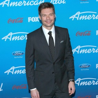 Ryan Seacrest in FOX's American Idol Finalists Party