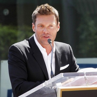 Ryan Seacrest in Ellen DeGeneres Is Honored with A Star on The Hollywood Walk of Fame