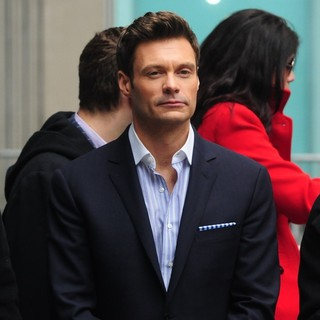 Ryan Seacrest in Idol Across America Kick Off Event