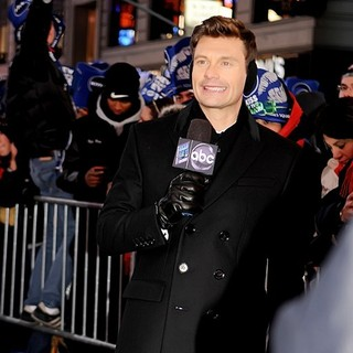 Ryan Seacrest in New Year's Eve 2013 in Times Square