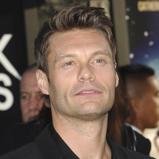 Ryan Seacrest in Premiere of Warner Bros. Pictures Rock of Ages - Arrivals - ryan-seacrest-premiere-rock-of-ages-01