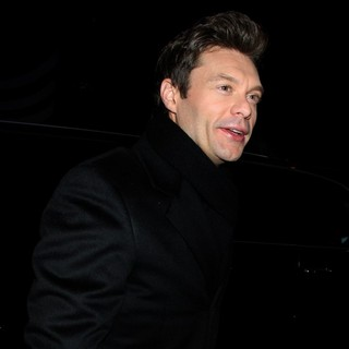 Ryan Seacrest in Ryan Seacrest Outside ABC Studios for Good Morning America to Promote His Rockin' New Year's Eve