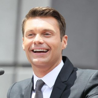 Ryan Seacrest in Simon Fuller Receives A Star on The Hollywood Walk of Fame