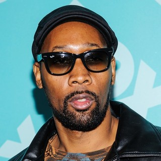 RZA in 2013 FOX Upfront Presentation Post-Party