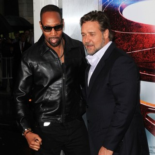 RZA, Russell Crowe in World Premiere of Man of Steel - Arrivals