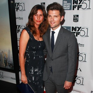 Naomi Sablan, Adam Scott in The 2013 New York Film Festival Presentation of The Secret Life of Walter Mitty