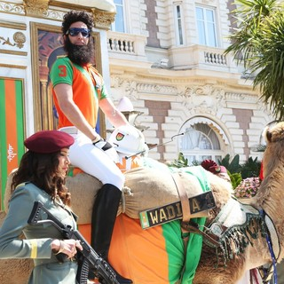 Sacha Baron Cohen in The Dictator Photocall - During The 65th Annual Cannes Film Festival - sacha-baron-cohen-65th-cannes-film-festival-05