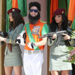 Sacha Baron Cohen in The Dictator Photocall - During The 65th Annual Cannes Film Festival - sacha-baron-cohen-65th-cannes-film-festival-08
