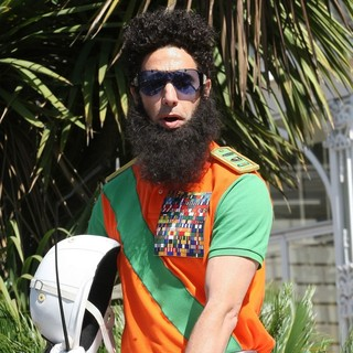 Sacha Baron Cohen in The Dictator Photocall - During The 65th Annual Cannes Film Festival