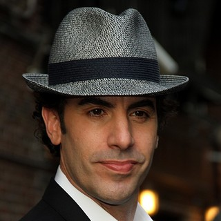 Sacha Baron Cohen in The Late Show with David Letterman - Arrivals - sacha-baron-cohen-late-show-with-david-letterman-01