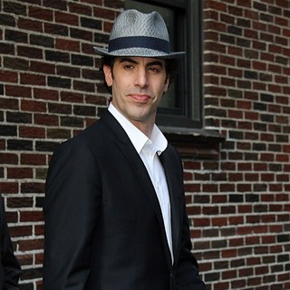Sacha Baron Cohen in The Late Show with David Letterman - Arrivals - sacha-baron-cohen-late-show-with-david-letterman-02