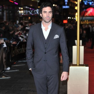 Sacha Baron Cohen in Les Miserables World Premiere - Arrivals - sacha-baron-cohen-uk-premiere-les-miserables-05