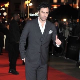 Sacha Baron Cohen in Les Miserables World Premiere - Arrivals