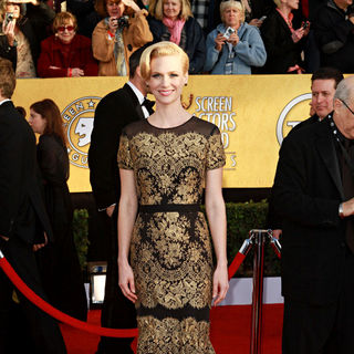 January Jones - The 17th Annual Screen Actors Guild Awards (SAG Awards 2011) - Arrivals