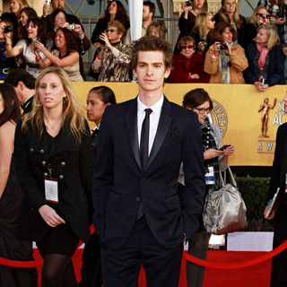 Andrew Garfield in The 17th Annual Screen Actors Guild Awards (SAG Awards 2011) - Arrivals