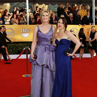 Jane Lynch, Lara Embry in The 17th Annual Screen Actors Guild Awards (SAG Awards 2011) - Arrivals