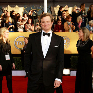 Colin Firth in The 17th Annual Screen Actors Guild Awards (SAG Awards 2011) - Arrivals