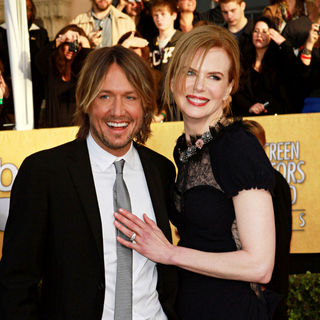 Keith Urban, Nicole Kidman in The 17th Annual Screen Actors Guild Awards (SAG Awards 2011) - Arrivals