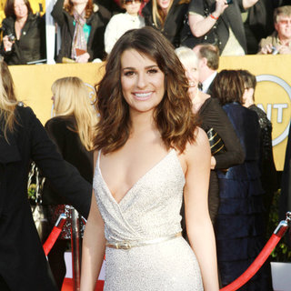 Lea Michele in The 17th Annual Screen Actors Guild Awards (SAG Awards 2011) - Arrivals