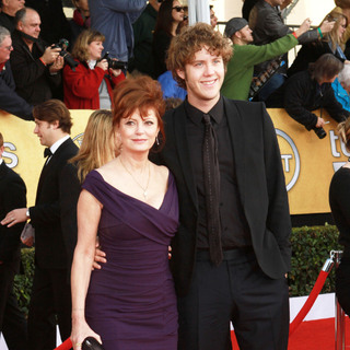 Susan Sarandon, Jack Robbins in The 17th Annual Screen Actors Guild Awards (SAG Awards 2011) - Arrivals