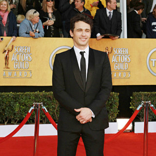 James Franco in The 17th Annual Screen Actors Guild Awards (SAG Awards 2011) - Arrivals