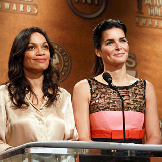 Rosario Dawson, Angie Harmon in Nomination Announcement for The 2011 Screen Actor's Guild Awards