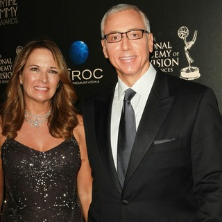 Susan Sailer, Dr. Drew Pinsky in The 40th Annual Daytime Emmy Awards - Arrivals
