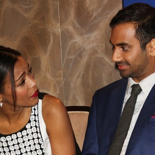 Zoe Saldana, Aziz Ansari in 71st Annual Golden Globe Awards Nominations Announcement